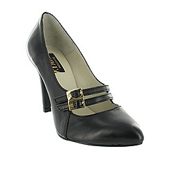 Marta Jonsson - Black court shoe with two straps