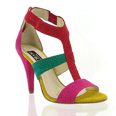 Marta Jonsson - Multi Coloured Leather Sandal