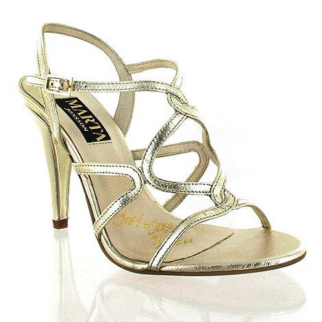 Marta Jonsson - Gold Leather Sandal