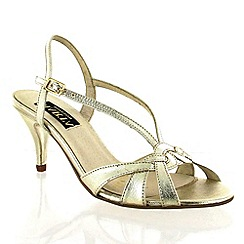 Marta Jonsson - Gold Leather Sandal