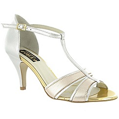 Marta Jonsson - Silver leather sandal