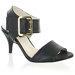 Marta Jonsson - Black Leather Sandal