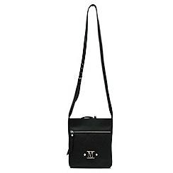 Marta Jonsson - Black leather across body bag