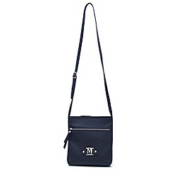 Marta Jonsson - Navy leather across body bag