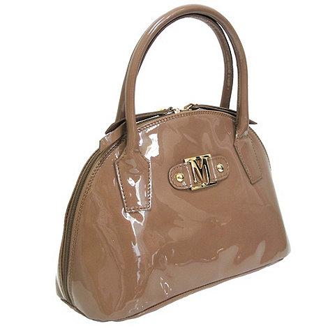 Marta Jonsson - Nude patent handbag