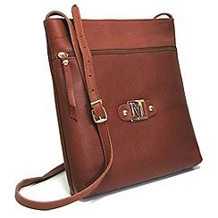 Marta Jonsson - Tan leather cross body bag