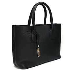 Marta Jonsson - Black leather handbag