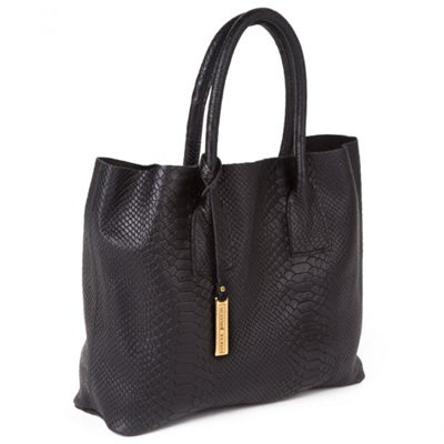 Marta Jonsson Black leather grab bag - MISC.  Size - MISC