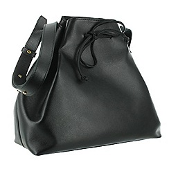 Marta Jonsson - Black should pouch bag