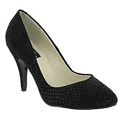 Marta Jonsson - Black high heeled court shoe
