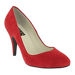Marta Jonsson - Red high heeled court shoe