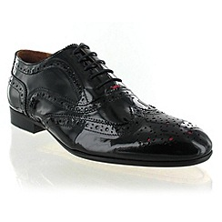 Marta Jonsson - Black Patent Leather Classic Brogue