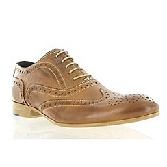 Marta Jonsson - Tan leather classic brogue shoe