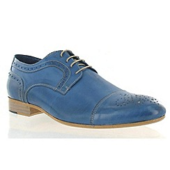 Marta Jonsson - Blue leather classic brogue shoe
