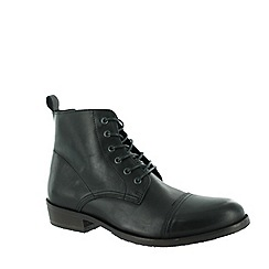 Marta Jonsson - Black men's ankle boot with laces