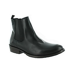 Marta Jonsson - Black men's slip on ankle boot