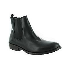 Marta Jonsson - Black men's slip on ankle boot