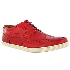 Marta Jonsson - Red leather trainer