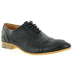 Marta Jonsson - Black leather brogue