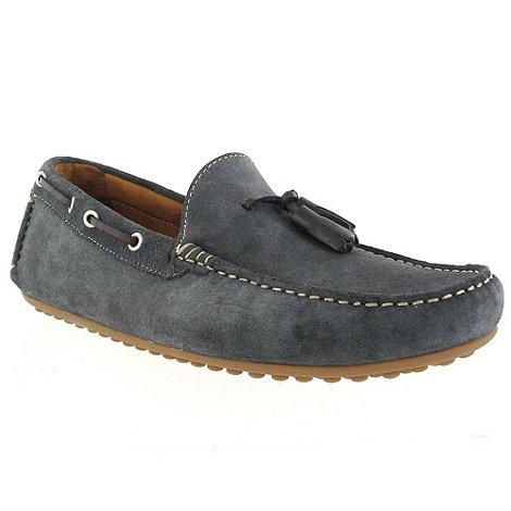 Marta Jonsson - Grey suede loafer