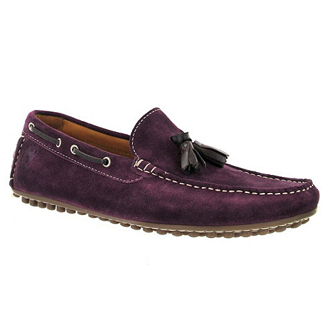 Marta Jonsson - Purple suede loafer
