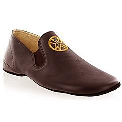 Marta Jonsson - Brown leather slipper