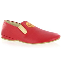 Marta Jonsson - Red leather slipper