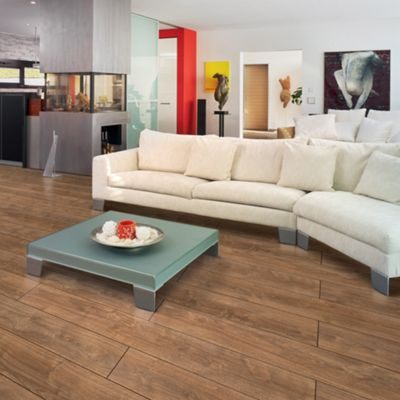 Dark oak 4V groove 7mm laminate flooring