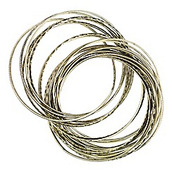 Joe Browns - Bronze jingle jangle multi bangle bracelets
