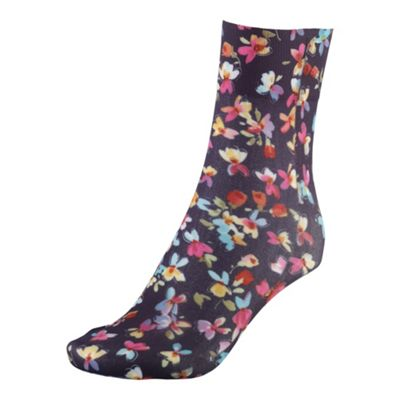 Multi coloured cool and quirky printed socks