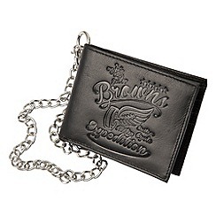 Joe Browns - Black laid back wallet on a chain