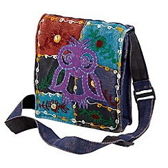 Joe Browns - Purple fabulous owl cross body bag