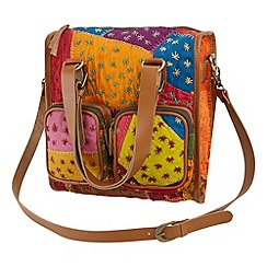 Joe Browns - Multi coloured mexicana bag
