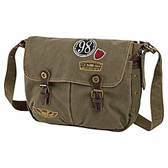 Joe Browns - Khaki laid back messenger bag