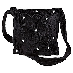 Joe Browns - Black magical velvet mirror x body bag