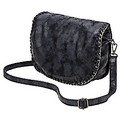 Joe Browns - Black boho chic chain bag