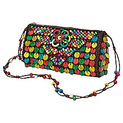 Joe Browns - Multi coloured beautiful beaded bag