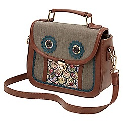 Joe Browns - Multi coloured quirky twit twoo bag