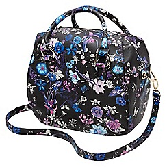 Joe Browns - Multi coloured fabulous floral bowler bag