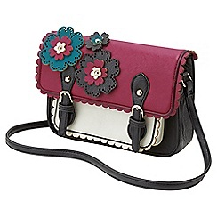 Joe Browns - Multi coloured wonderful corsage satchel