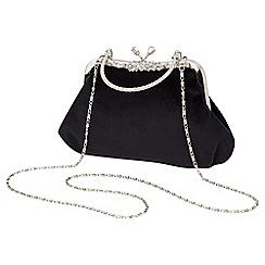 Joe Browns - Black vintage velvet bag