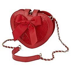 Joe Browns - Red love heart bag
