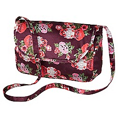 Joe Browns - Multi coloured vintage velvet floral bag