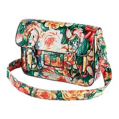 Joe Browns - Multi coloured stunning tropical satchel