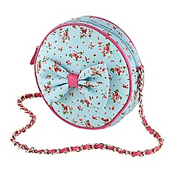 Joe Browns - Blue vintage floral bag