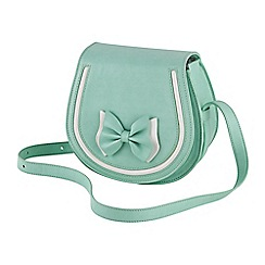 Joe Browns - Pale green fabulous saddle bag