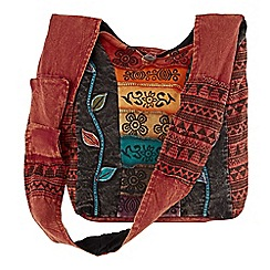 Joe Browns - Red wonderful hippy chick bag