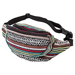 Joe Browns - Multi coloured boho festival bum bag