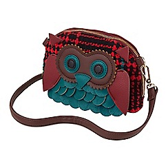 Joe Browns - Multi coloured quirky owl bag