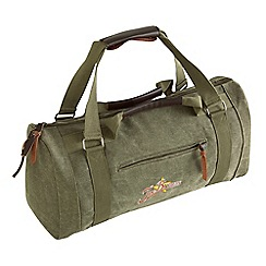 Joe Browns - Khaki canvas holdall bag